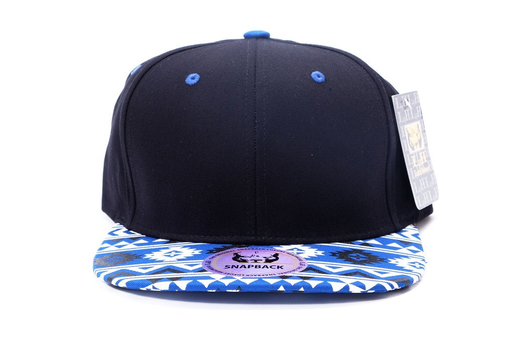 SNAP BACK L&H - BLUE NEON PATTERN