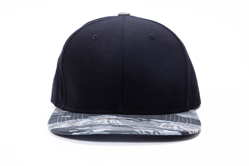 SNAP BACK L&H - GREY CAMO