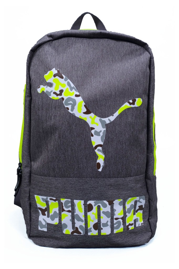 CANNED BACKPACK PUMA -  GREY / CAMO LOGO