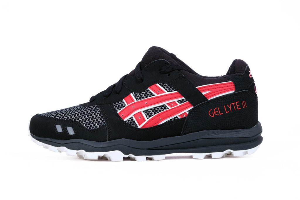 SAMURAI GEL LYTE  - RED BLACK ( ĐẾ TRAINING)