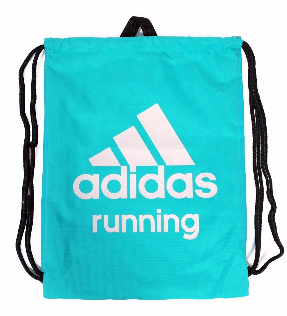 GYM SACK RUNNING ADIDAS - CYAN