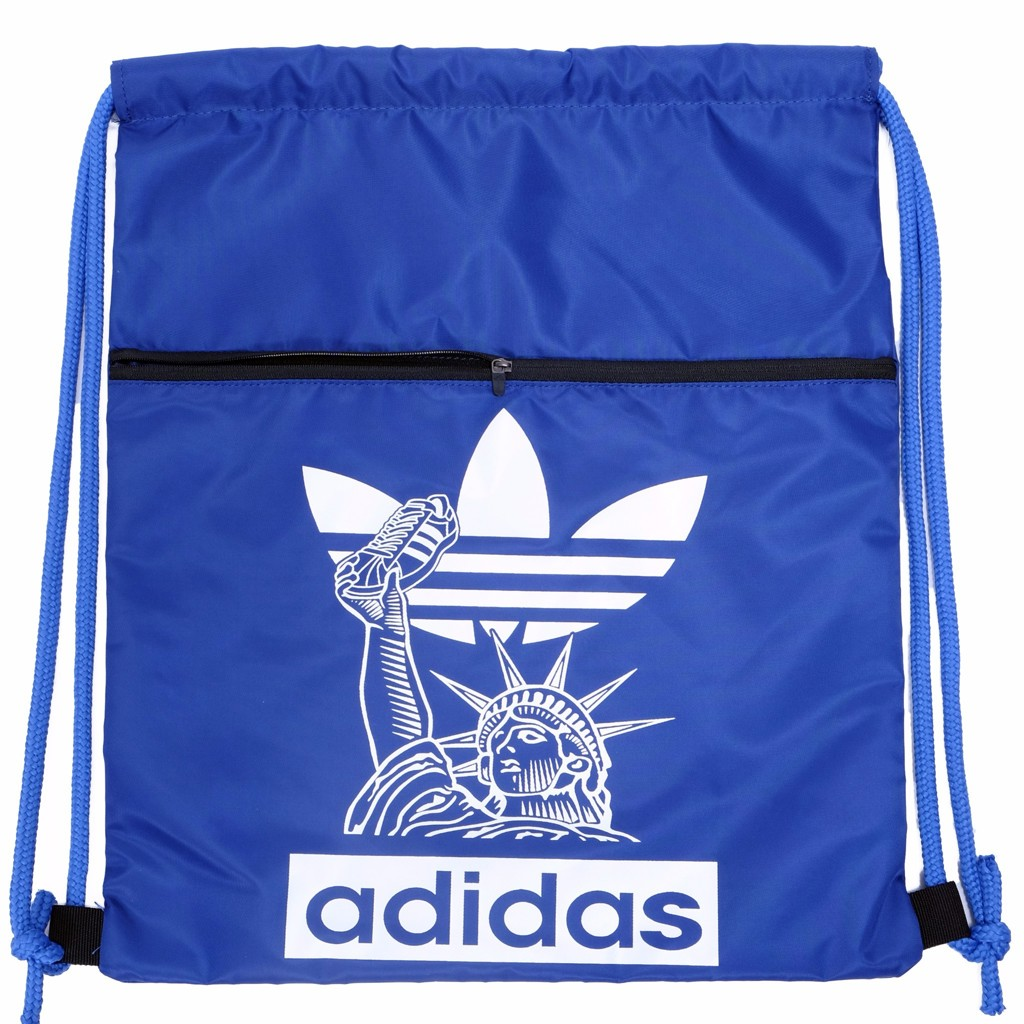 GYM SACK FREEDOM ADIDAS - BLUE / WHITE LOGO