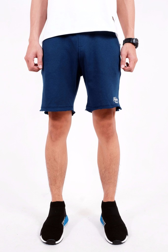 SWEATSHORT PANTS BROTHERHOOD - BLUE