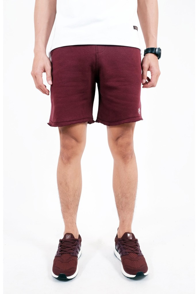 SWEATSHORT PANTS BROTHERHOOD - BORDEAUX
