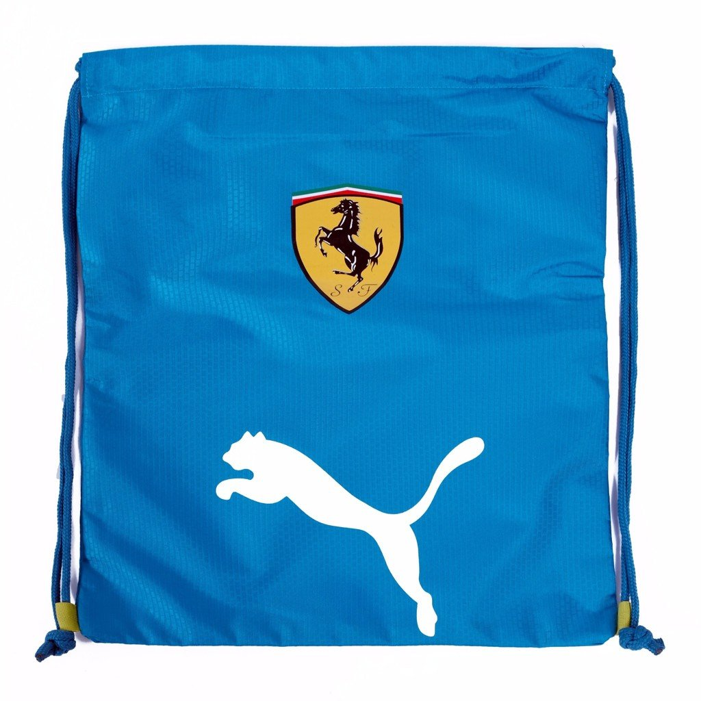 GYM SACK FERRARI RUNNING PUMA - BLUE / WHITE LOGO