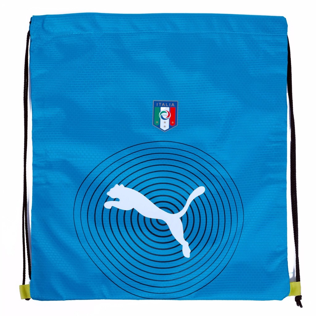 GYM SACK ITALIA RUNNING PUMA - BLUE / WHITE LOGO
