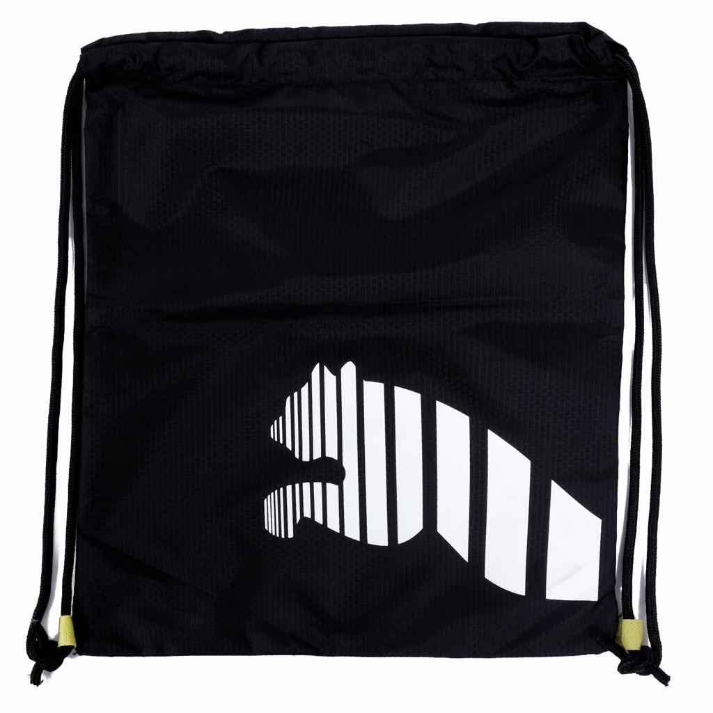 GYM SACK RUNNING PUMA - BLACK / WHITE LOGO