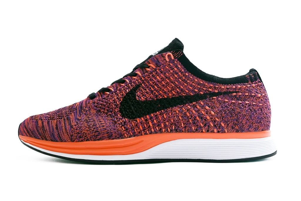 FLYKNIT RACER - PURPLE ORANGE