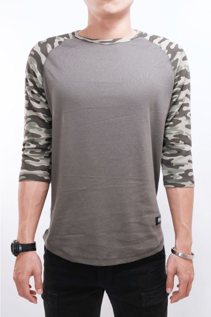 RAGLAN 3/4 BROTHERHOOD - CAMO PATTERN