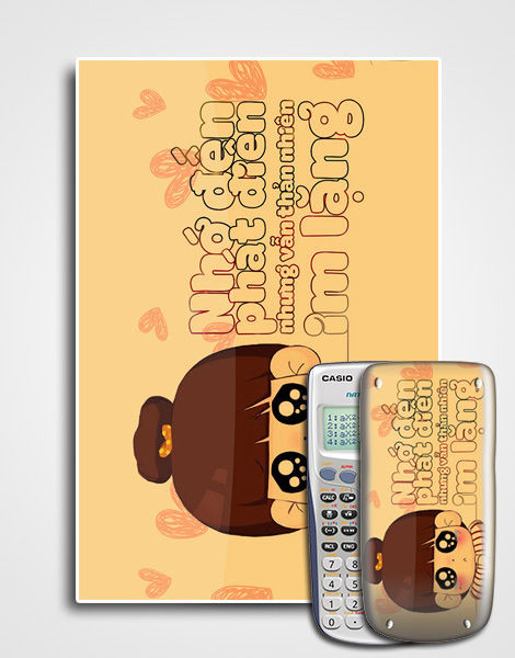 Decal cute slogan 065