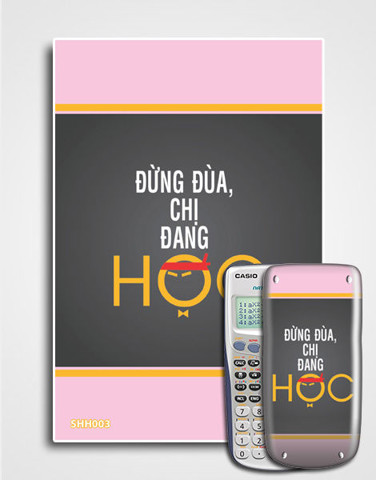 Decal Cute slogan SHH-003