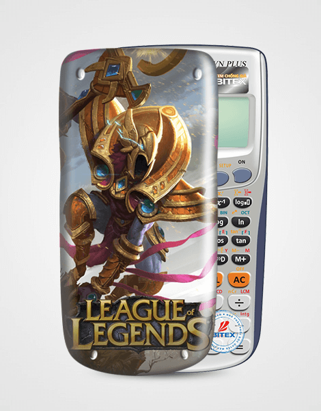 Nắp máy tính Casio League Of Legend 051
