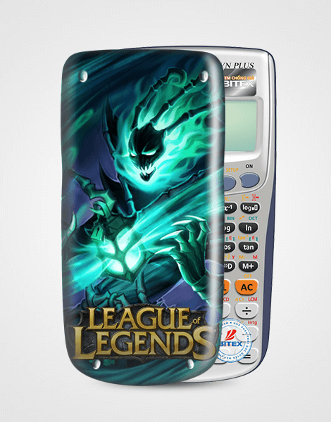 Nắp máy tính Casio League Of Legend 055