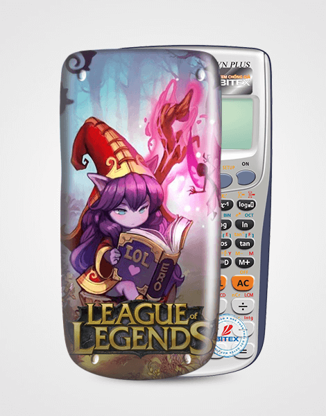 Nắp máy tính Casio League Of Legend 060