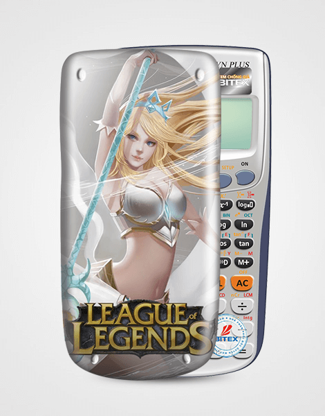 Nắp máy tính Casio League Of Legend 065