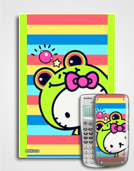 Decal máy tính Casio Hello Kitty 028