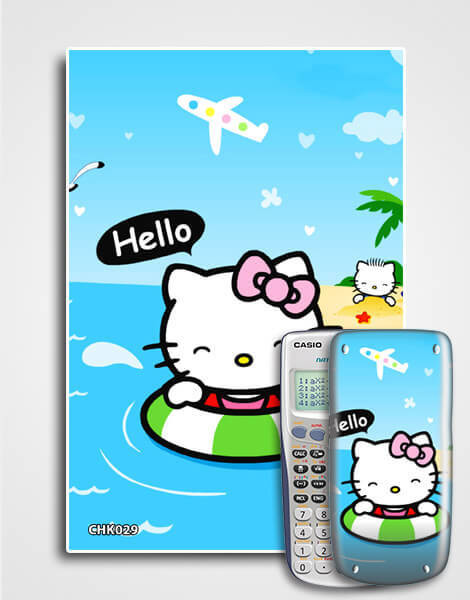 Decal máy tính Casio Hello Kitty 029