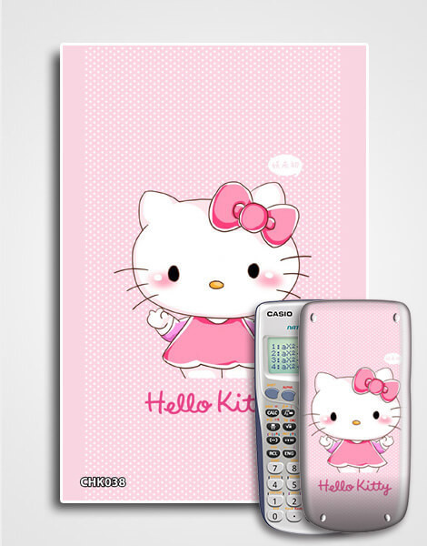 Decal máy tính Casio Hello Kitty 038