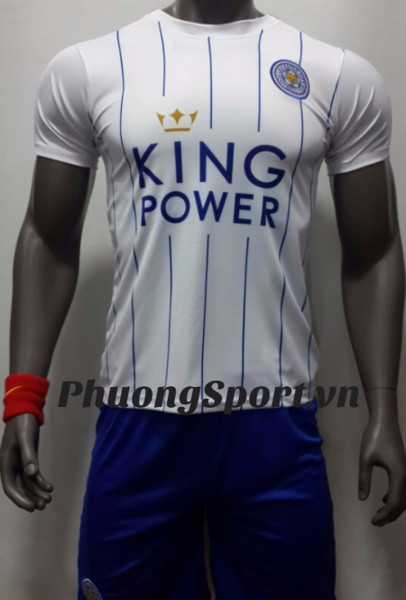 Áo Leicester City Trắng 2016/17