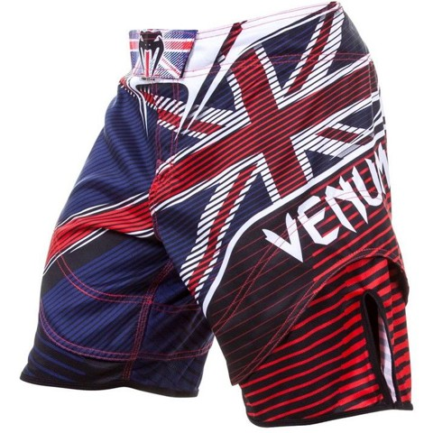 QUẦN MMA VENUM UK HERO FIGHT SHORT - BLUE/RED/ICE