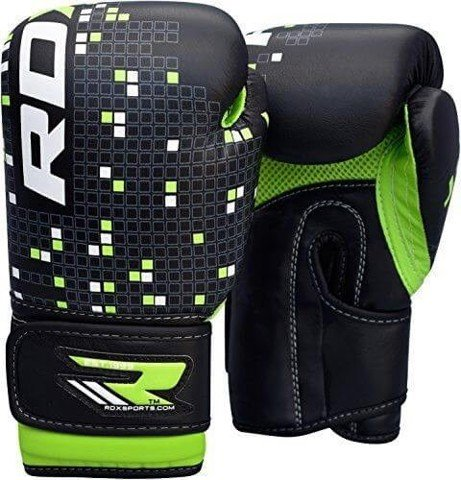 GĂNG CON NÍT RDX KIDS 4OZ LEATHER-X BOXING GLOVES