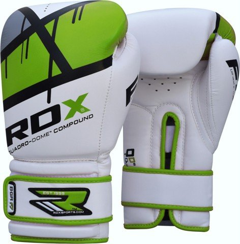 GĂNG TAY RDX QUADRO-DOME FITNESS BOXING GLOVES - GREEN