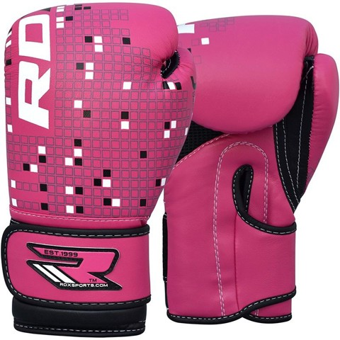 GĂNG CON NÍT RDX KIDS 6OZ LEATHER-X BOXING GLOVES
