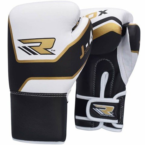 RDX Leather-X 6oz Kids Sparring Boxing Gloves