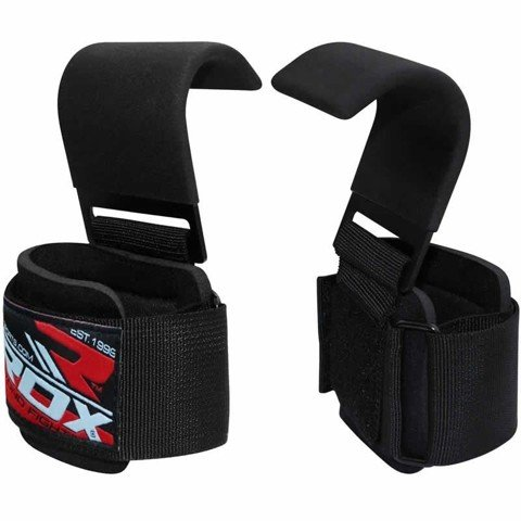GĂNG TAY RDX POWER LIFTING HOOK STRAP EXERCISE GYM STRAPS