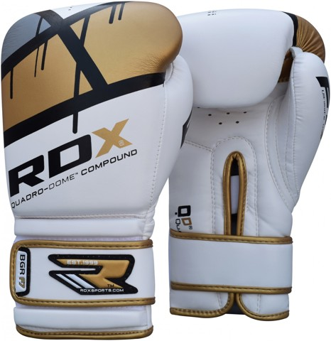 GĂNG TAY RDX QUADRO-DOME FITNESS BOXING GLOVES - GOLD