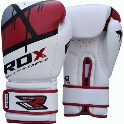GĂNG TAY RDX QUADRO-DOME FITNESS BOXING GLOVES - RED