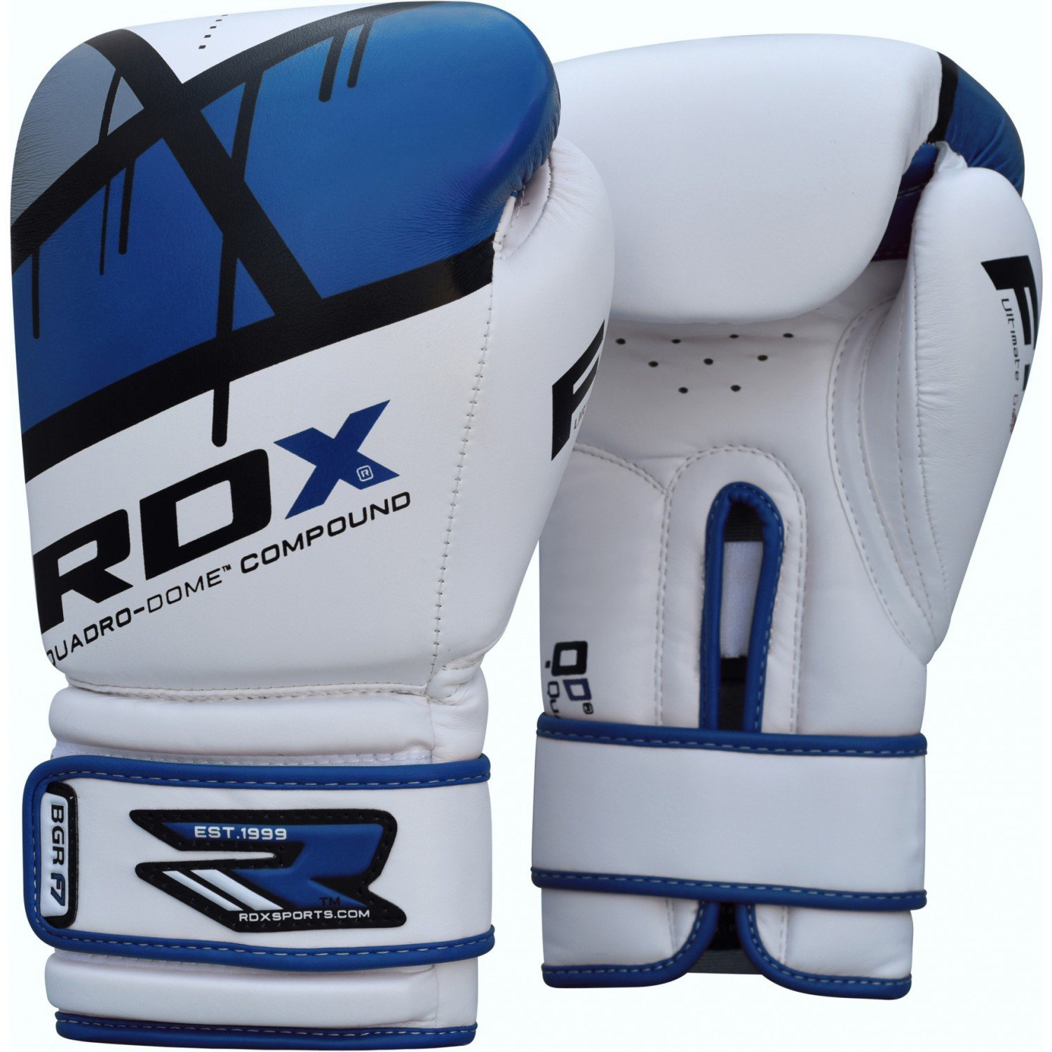 GĂNG TAY RDX QUADRO-DOME FITNESS BOXING GLOVES - BLUE