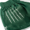 QUẦN MUAY SACRED MUAY THAI SHORTS - WHITE/GREEN