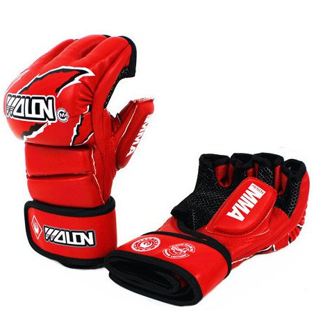 GĂNG TAY MMA GLOVES WOLON FIGHTER - RED