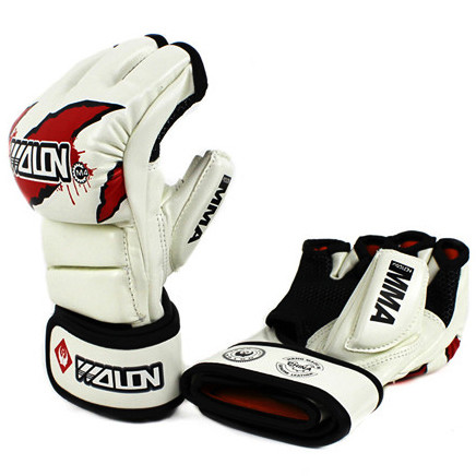 GĂNG TAY MMA GLOVES WOLON FIGHTER - WHITE