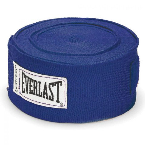 BĂNG QUẤN TAY EVERLAST PROFESSIONAL HAND WRAPS 180 BLUE - CO GIÃN