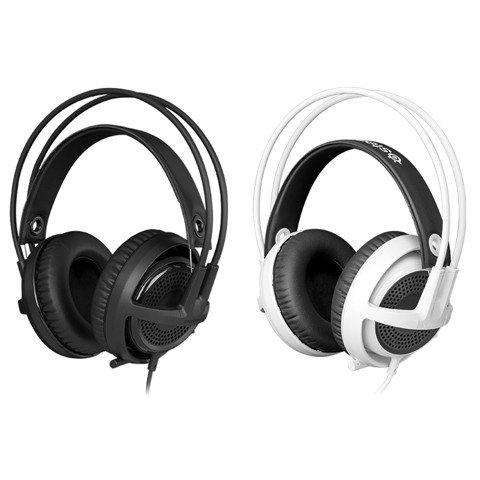 SteelSeries Siberia V3 Black / White