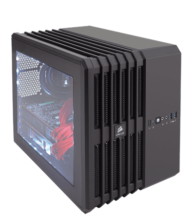 (Micro-ATX) Case Corsair Air 240 BLACK Carbide Series