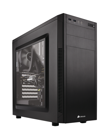 (Mid-Tower) Case Corsair 100R Carbide Series
