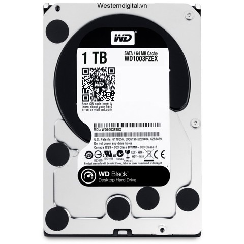 Western Digital 1TB Black 7200rpm