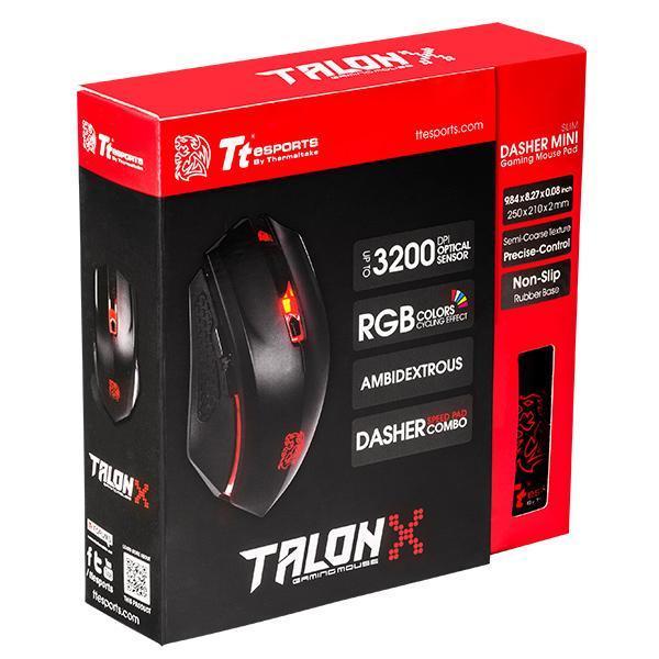 Tt eSports Talon X ( Tặng kèm mousepad )