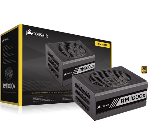 ( 1000W Gold Modular) Corsair RM1000X 80 Plus GOLD