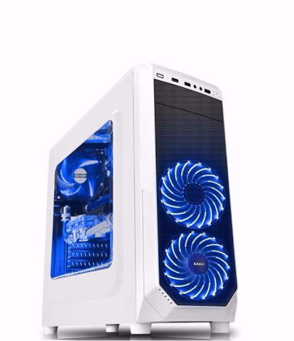 ( Mid-Tower ) Case SAMA Vision 1 White