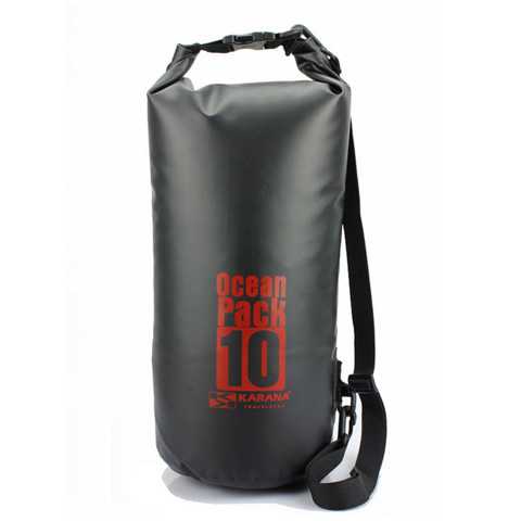 Ocean Pack Dry Bag 10L Black