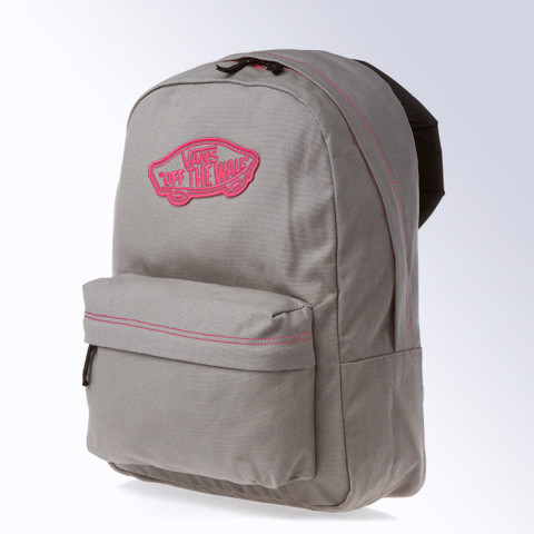 Realm Backpack Grey/Pink