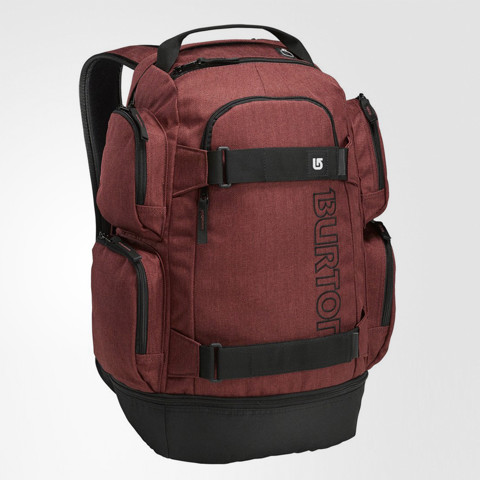 Distortion Backpack Red