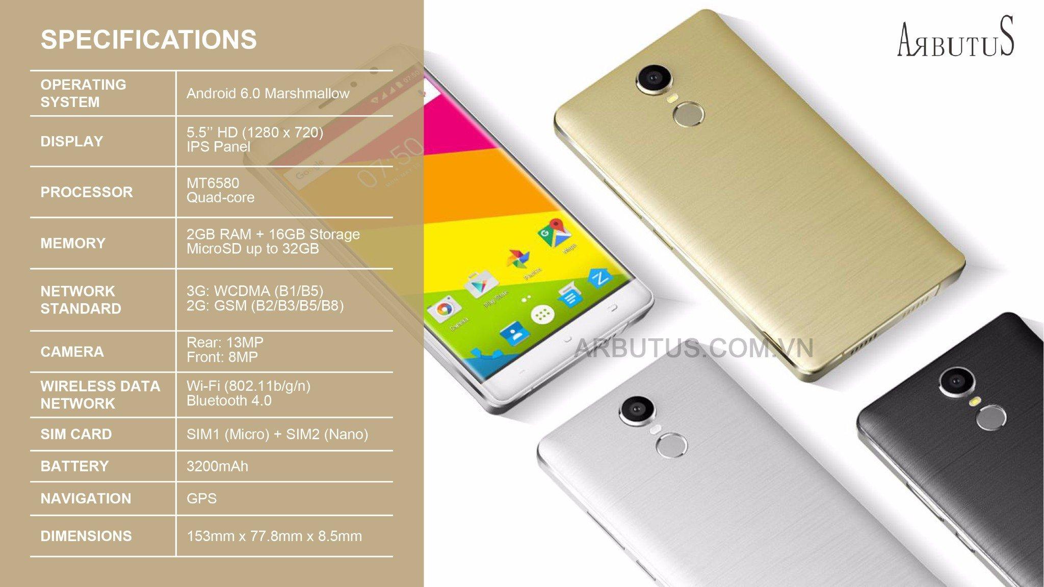 arbutus ar3 plus chính hãng bán lẻ giá sỉ cực rẻ tại www.smartphonestore.vn - 17
