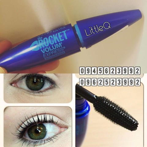 MASCARA MAYBELLINE ROCKET VOLUME EXPRESS WATERPROOF