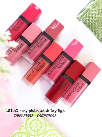 SON VELVET BOURJOIS PARIS