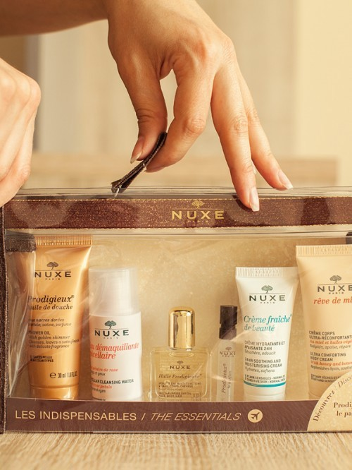 SET DƯỠNG DA MINI NUXE TRAVEL KIT